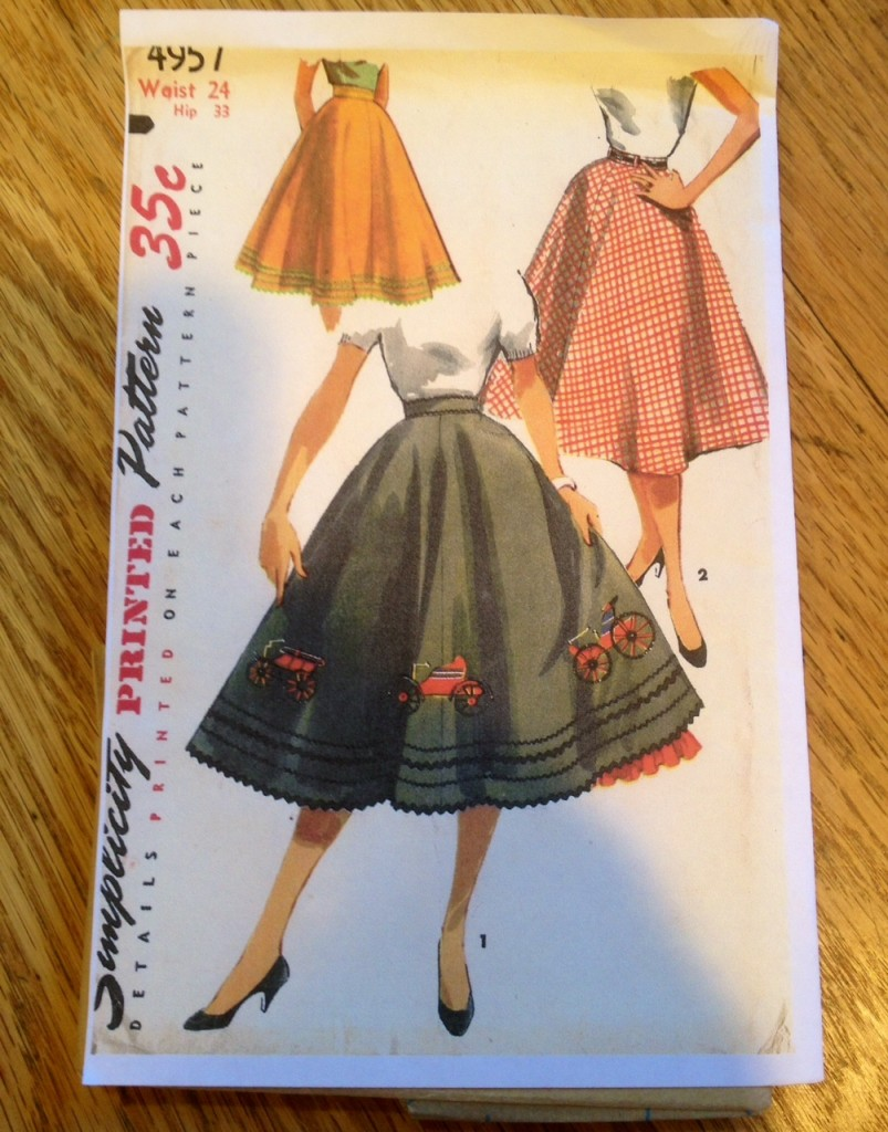 poodle skirt with tractors