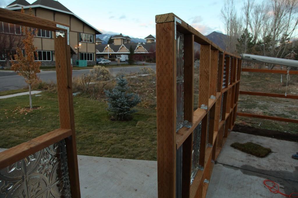 fence square panels