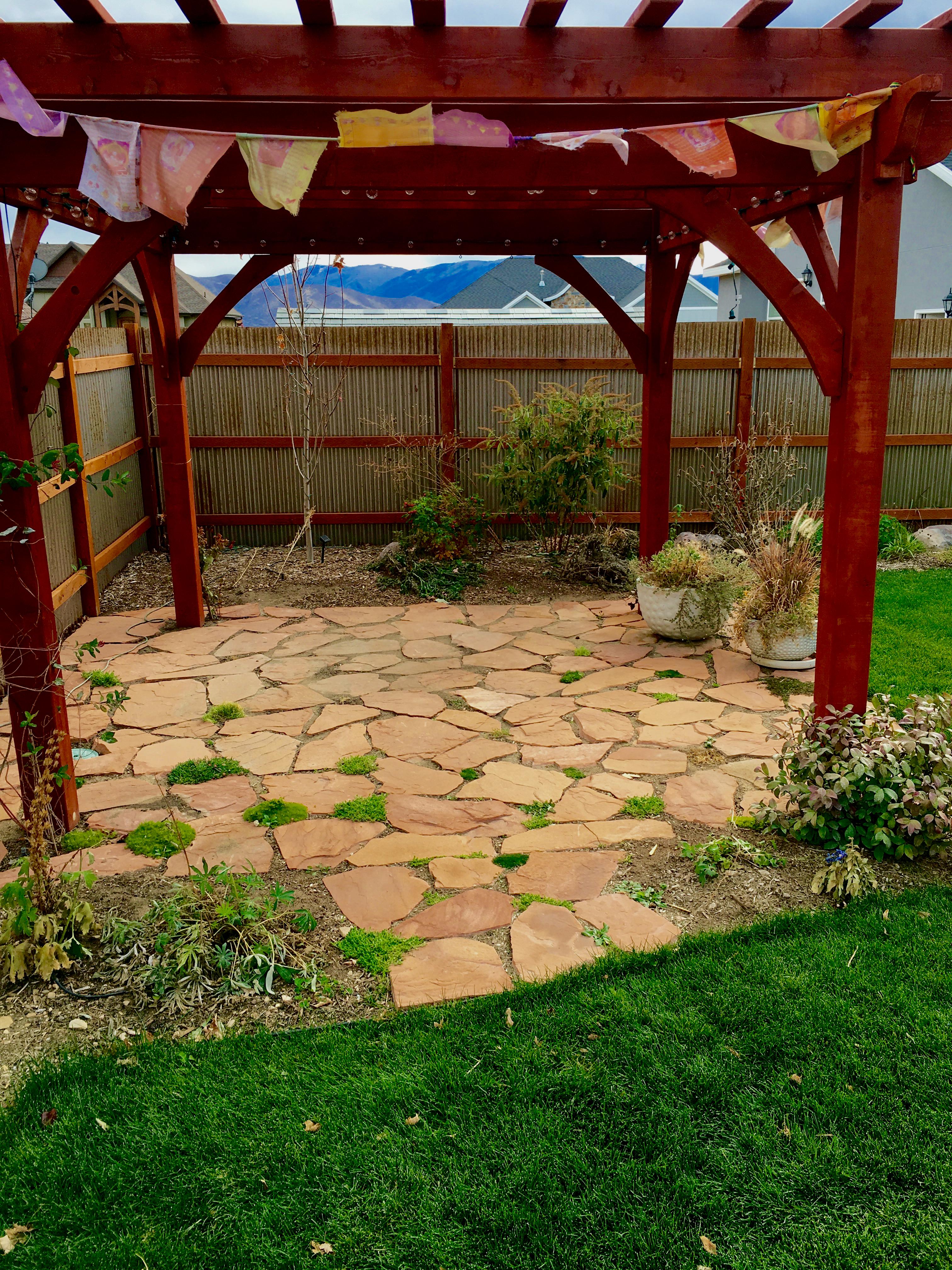 rock patio noelle o designs