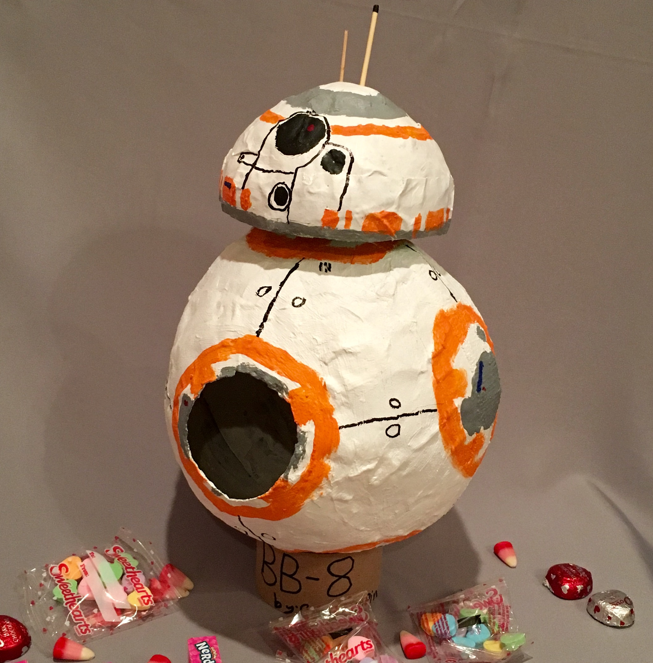 BB8 robot from star wars - noelle o designs