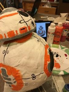 painting BB8