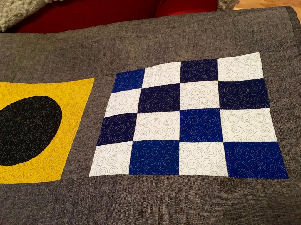 signal flag quilting