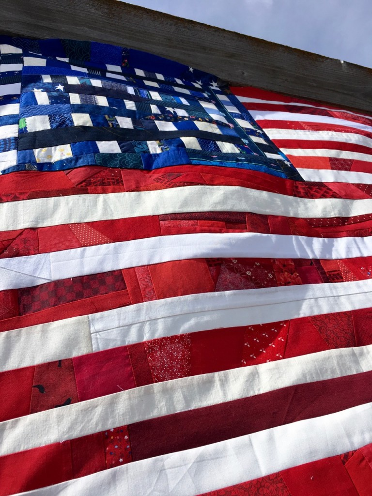 American Flag Quilt Noelle O Designs
