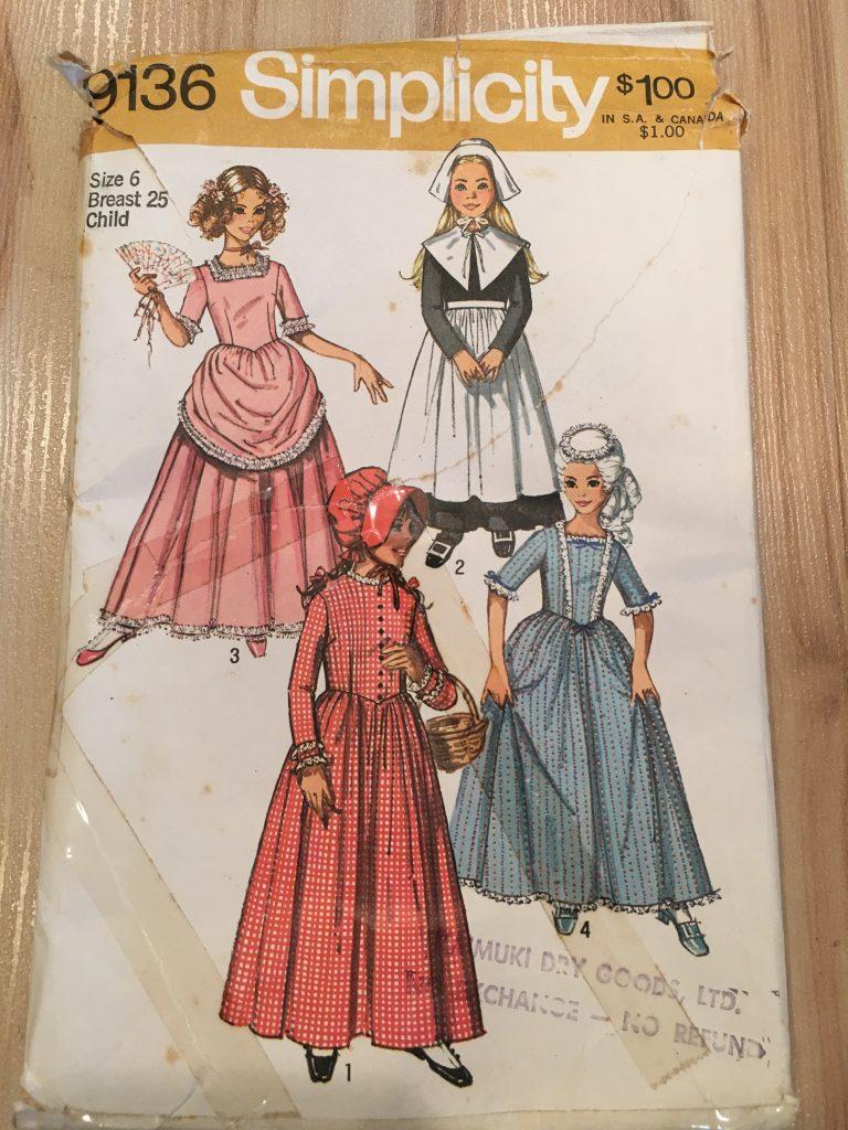 make a pilgrim bonnet pattern