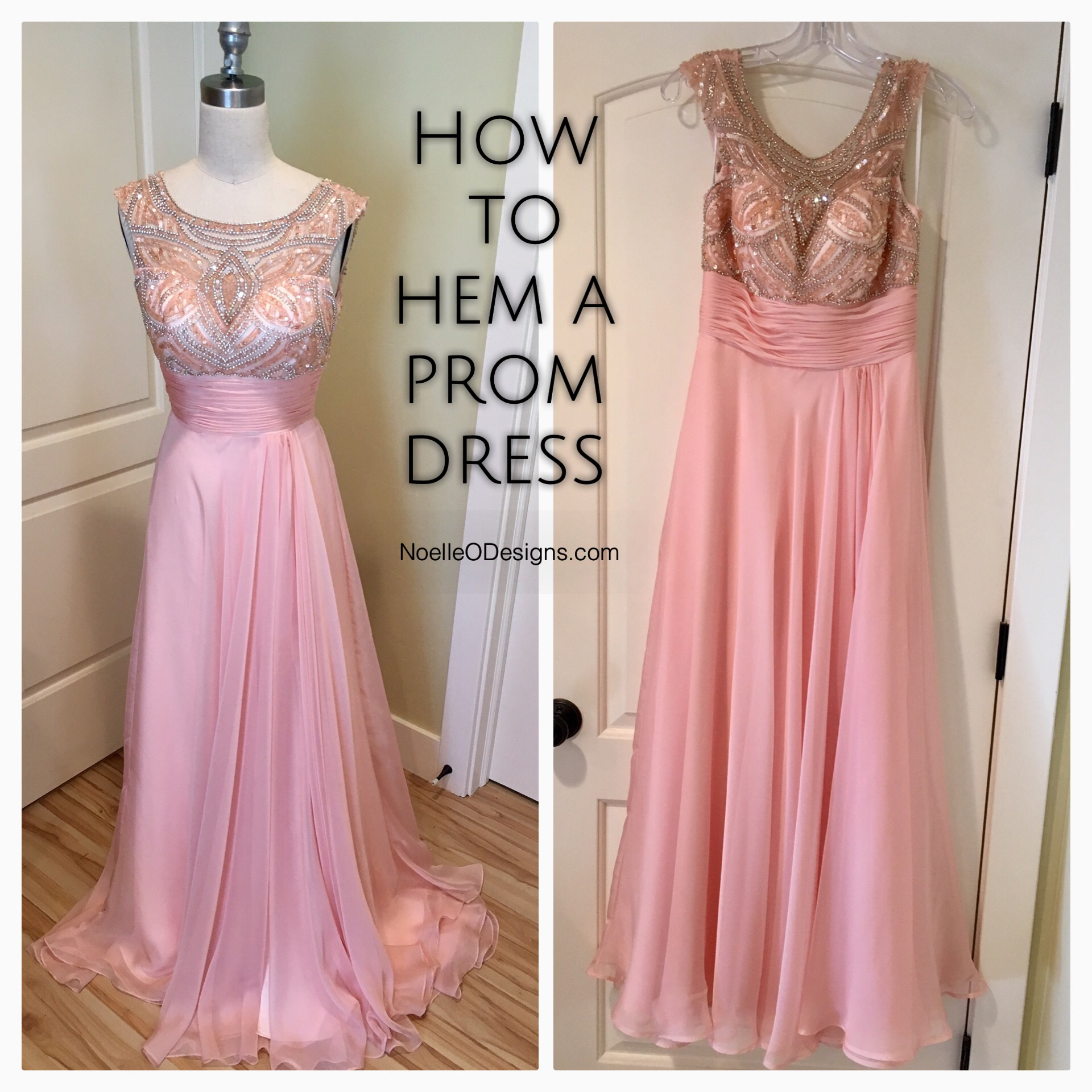 how-to-hem-a-prom-dress-1 - noelle o designs
