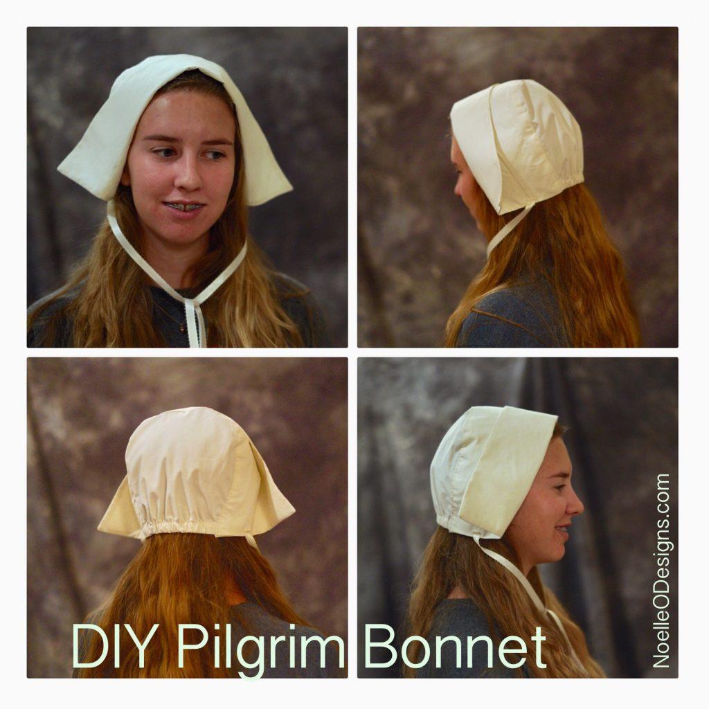 make an easy pilgrim bonnet