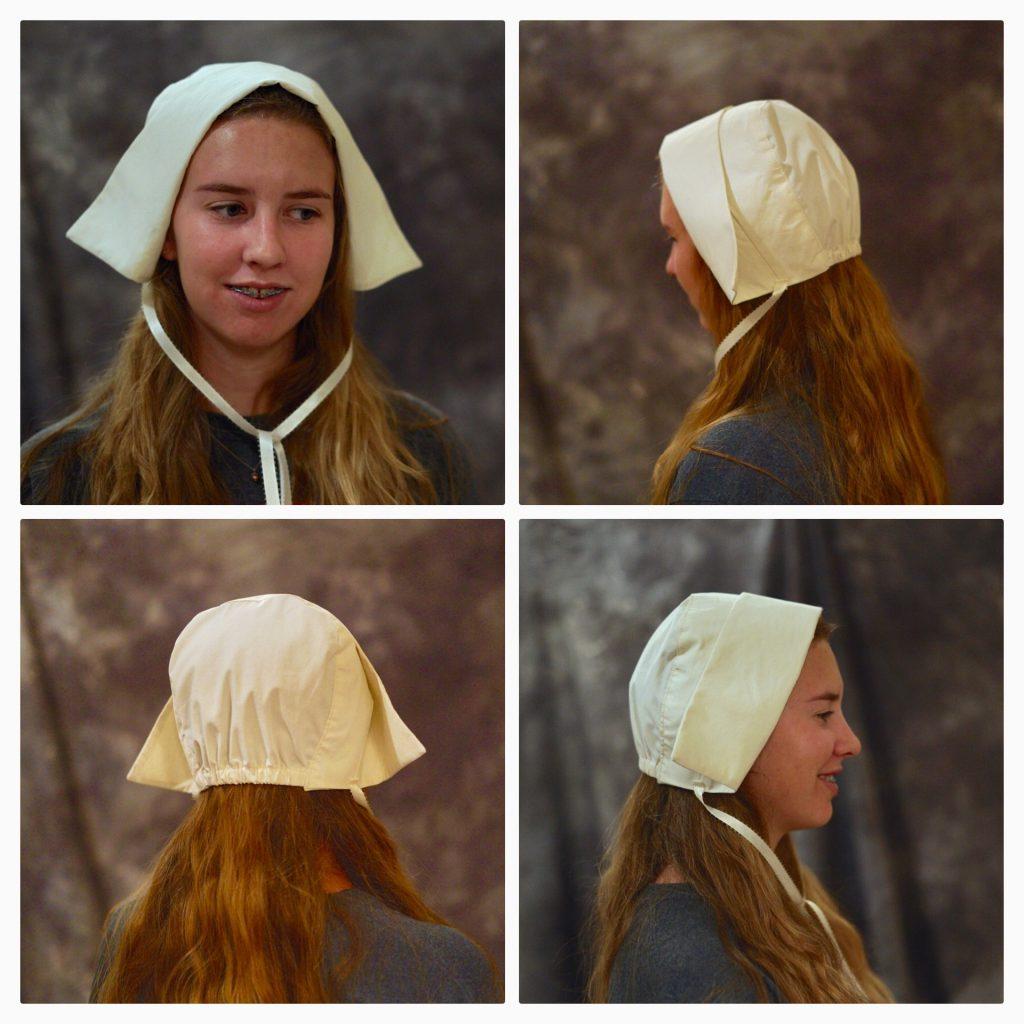 pilgrim bonnet DIY