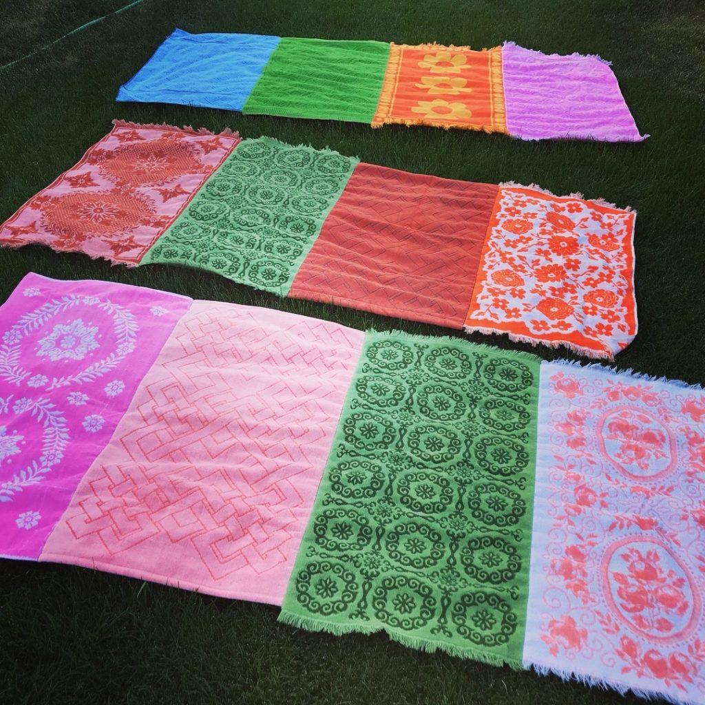 repurposed vintage towels
