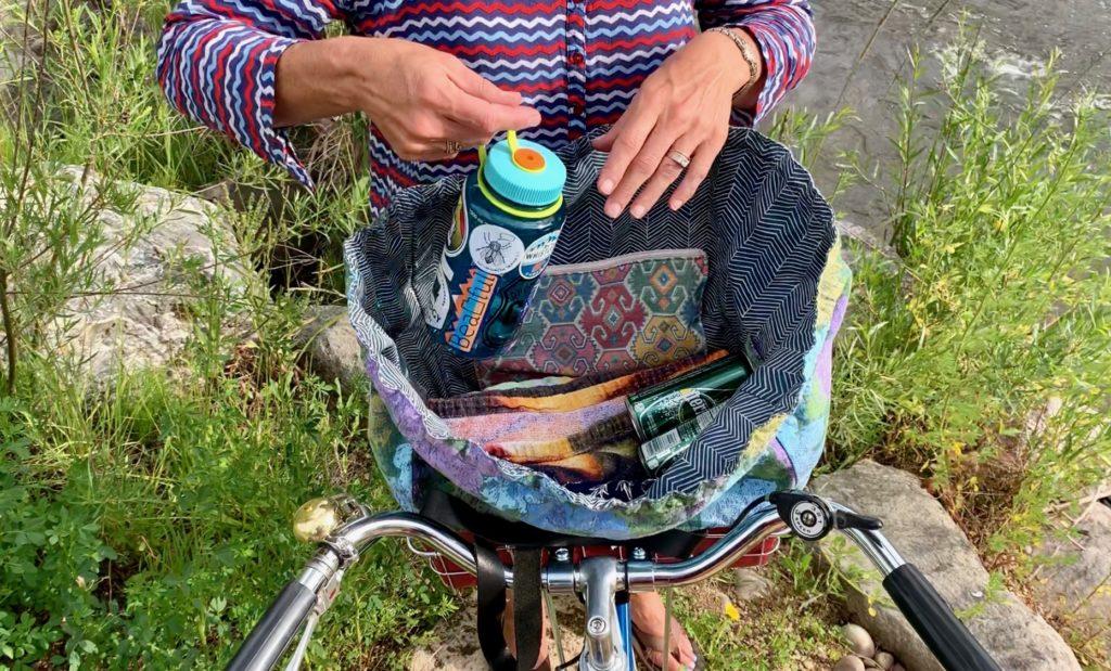 Very expandable bag aspect, 4 internal pockets
