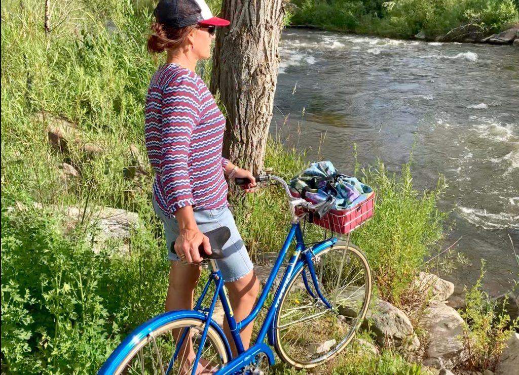 Custom bicycle basket bag