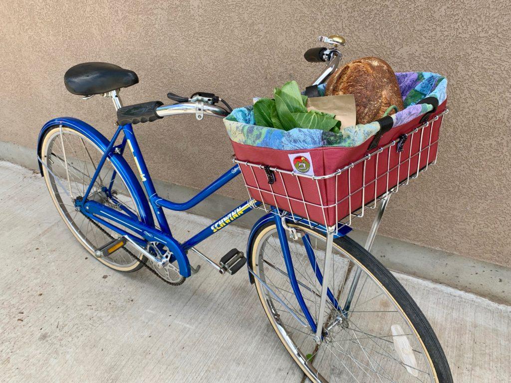 wald bike basket bag