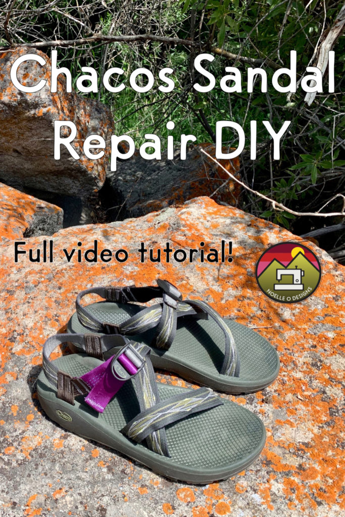 chaco sandal repair DIY