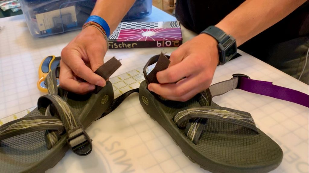how to repair chaco sandals