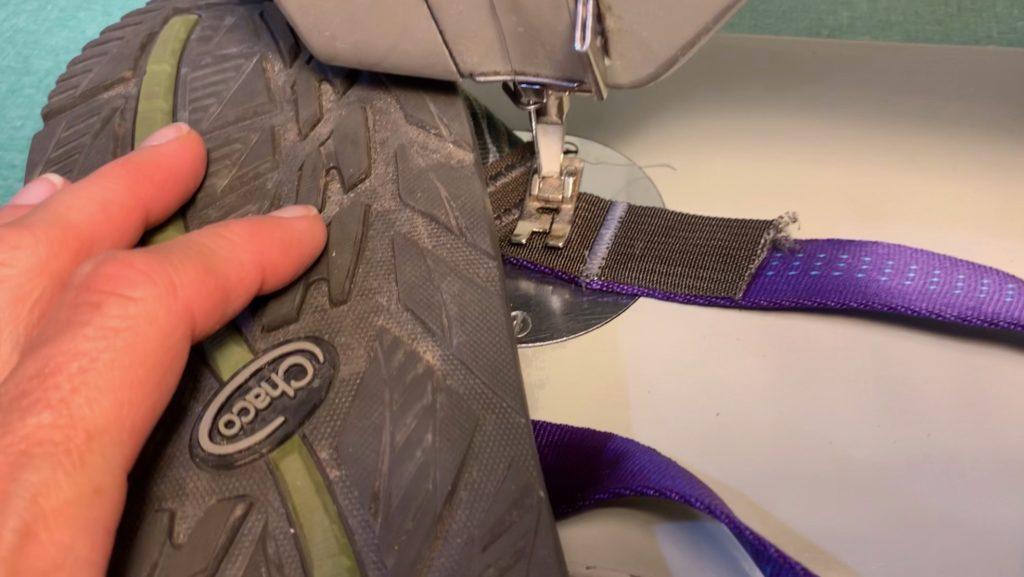Chaco sandal repair
