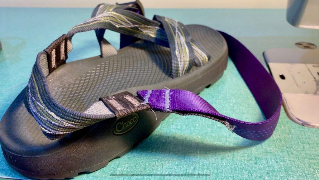 repairing chaco sandals