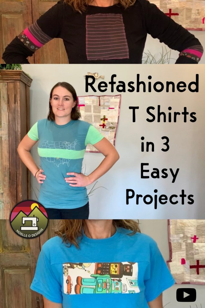upcycling t shirts in 3 easy projects