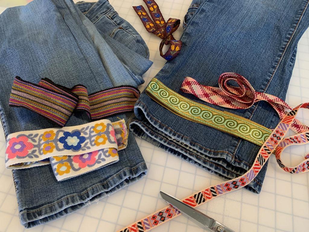 Jeans embellishment