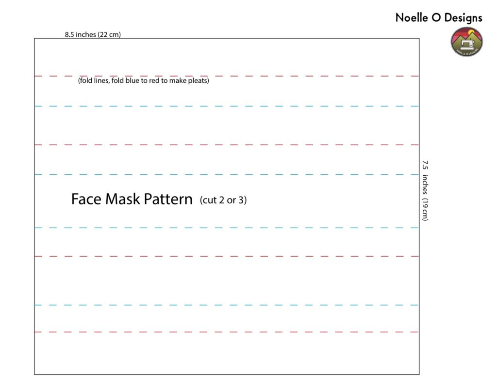 How To Make A Face Mask 2nd Edition Noelle O Designs