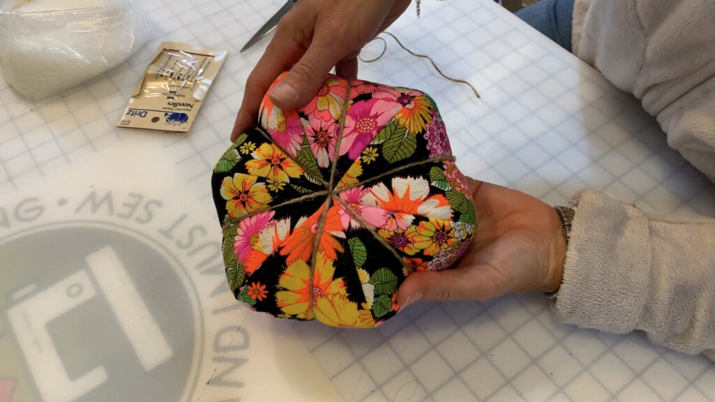 fabric pumpkin sewing tutorial